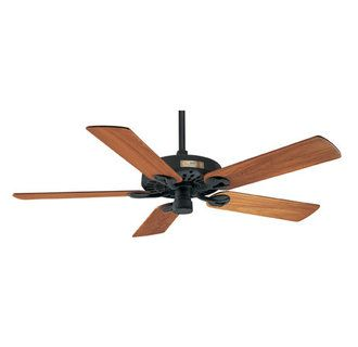 Hunter 25601 Textured Black 52 Outdoor Original Ceiling Fan Custom